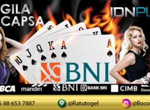 IDN Poker deposit BNI