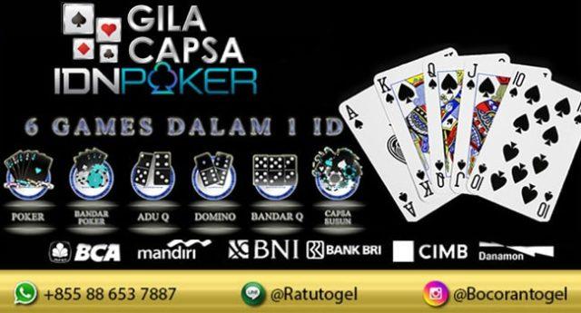 Deposit Kecil IDN Poker