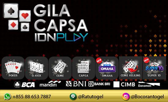 IDN Poker Deposit Pulsa | Daftar Poker IDN Play | Gila Capsa