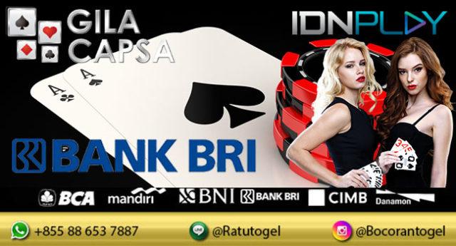 IDN Poker Deposit BRI