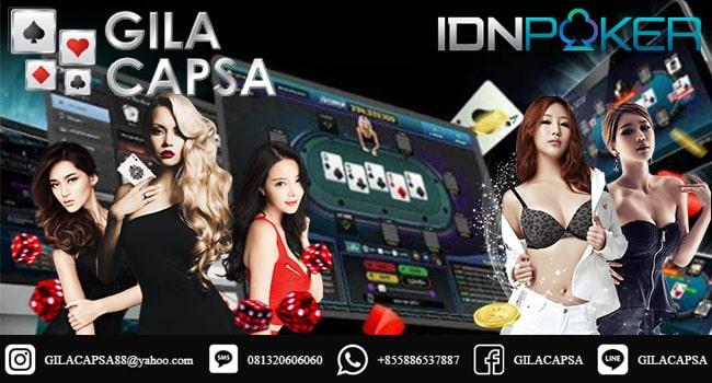 Link Daftar Deposit Pulsa   Aplikasi IDN Poker 88 Gila Capsa