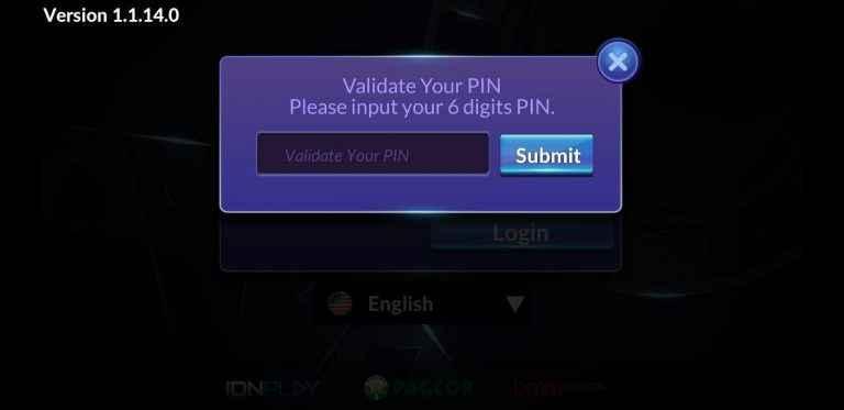 kode validasi